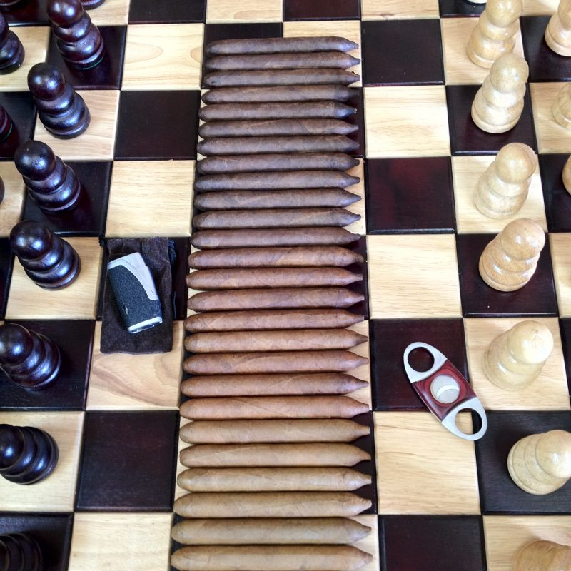 Shades of smoke over Chess in Citrus Heights